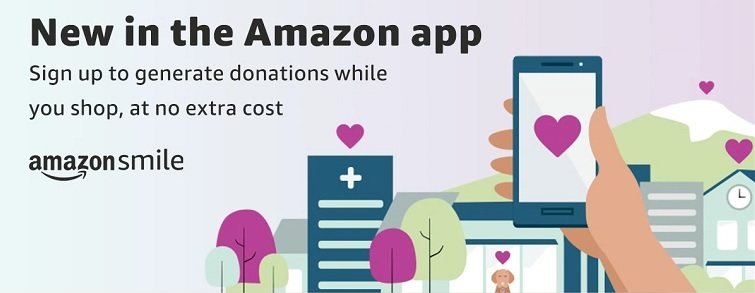 Amazon Smile now available on smartphone app
